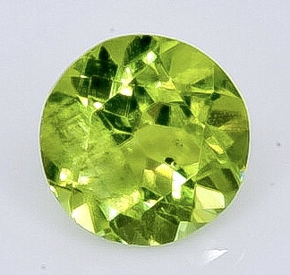 0.98 Crt Natural Peridot Faceted Gemstone.( AB 92)