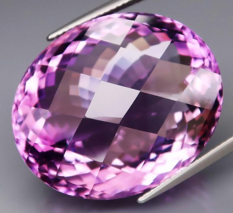 52.08 Ct. Natural Rich Purple Amethyst Uruguay Attractive Unheated