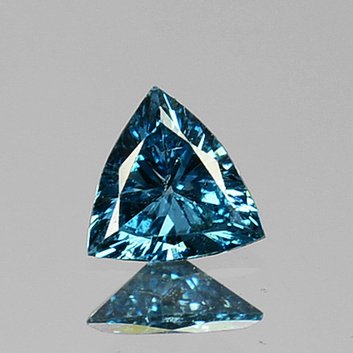 0.10 Cts Natural Diamond Flashing Blue Diamond Fancy 3mm Africa