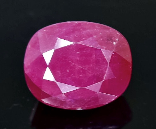 2.85 Crt  Ruby Faceted Gemstone (Rk-68)