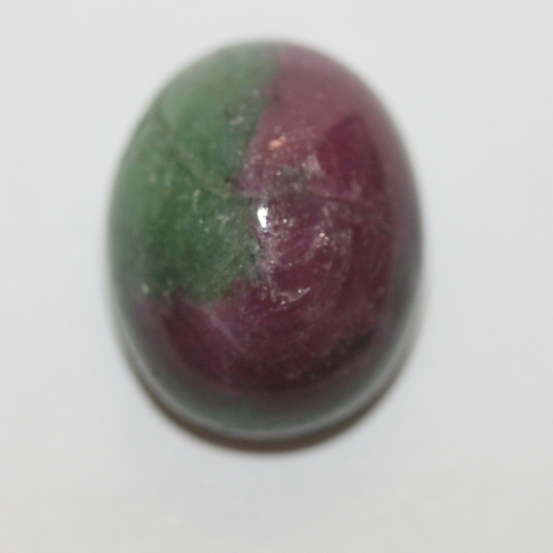 19.55 Ct Ruby Zoisite Oval Cabochon 17x13.7mm(SKU496)