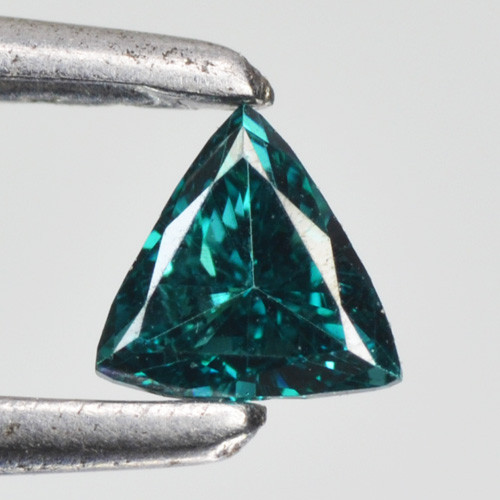 0.10 Cts Natural Diamond Flashing Blue Diamond 3mm Fancy Africa