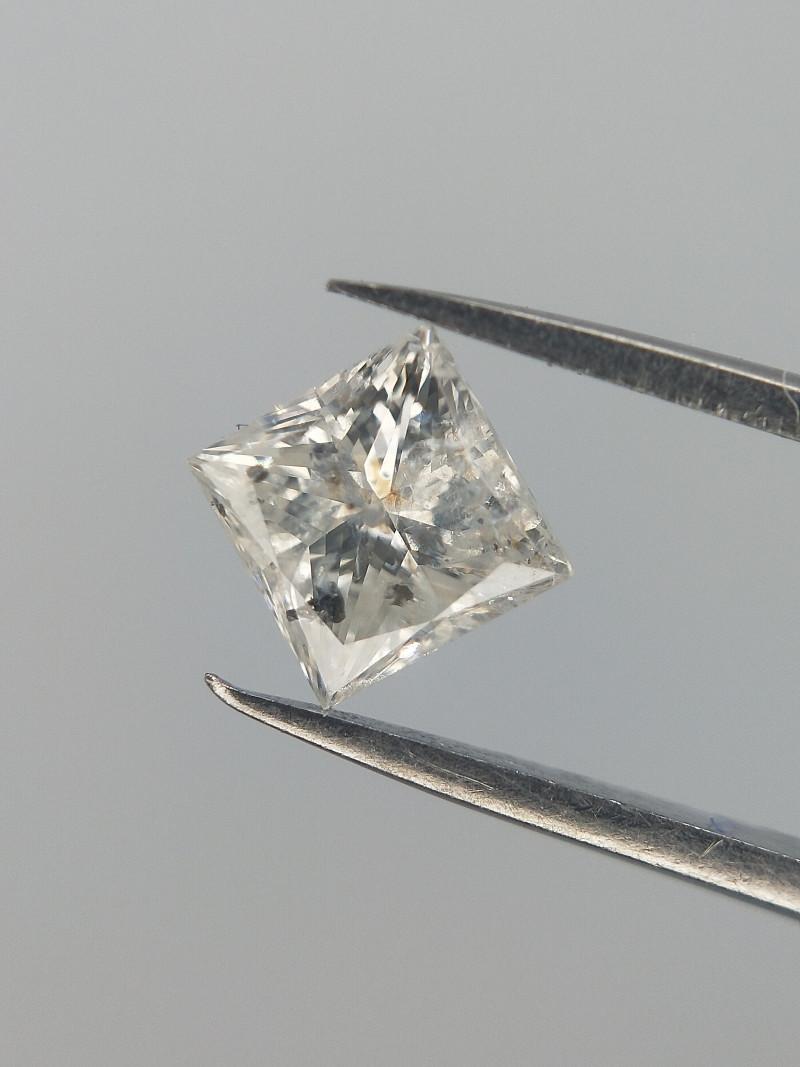 0.24 CTS , Princess Brilliant Cut Diamond , Natural white Diamond