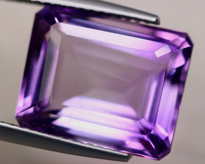 8.24ct Natural Purple Amethyst Octagon Cut Lot Z502