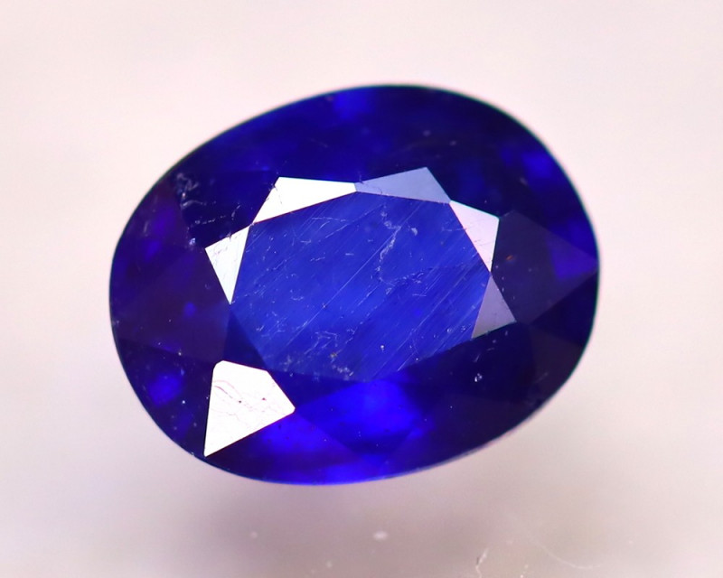 Ceylon Sapphire 2.47Ct Royal Blue Sapphire D0105/A23
