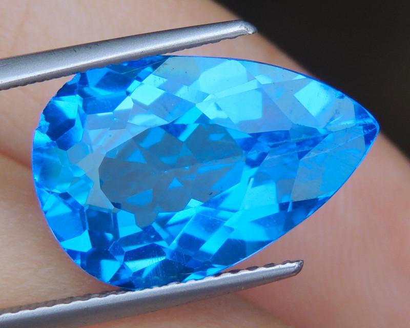 9.65cts, Cobolt Blue Topaz,