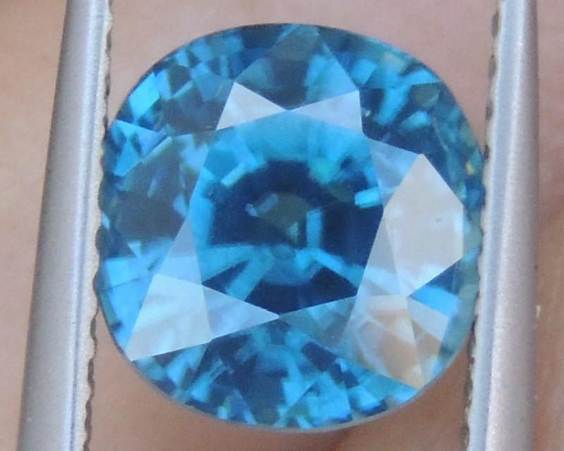 4.29cts, Blue Zircon,