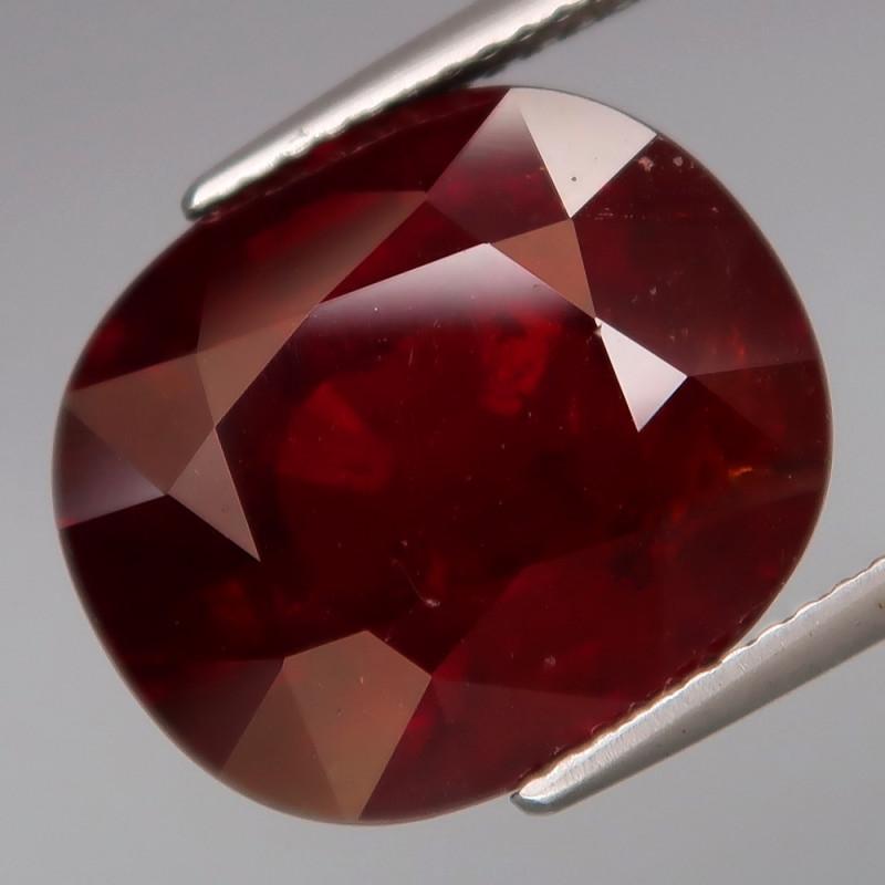 Big!  20.28 ct  Natural Earth Mined  Red  Spessartite Garnet Africa