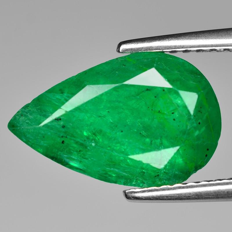 3.69 Cts Natural Vivid Green Colombian Emerald Loose Gemstone