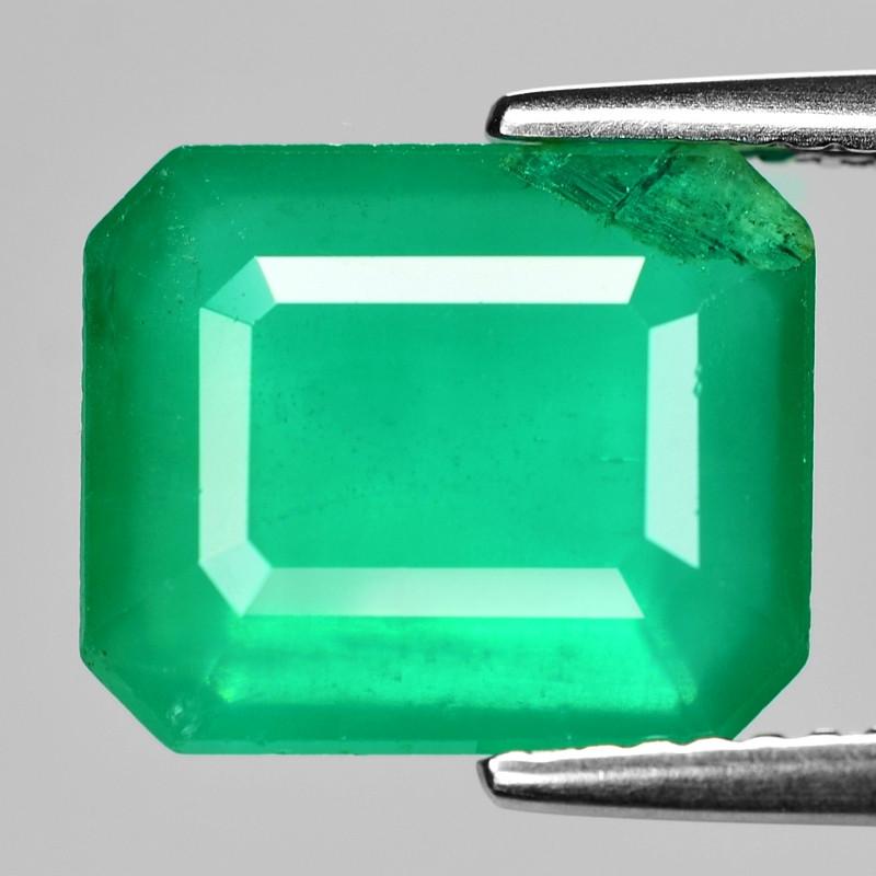 4.93 Cts Natural Vivid Green Colombian Emerald Loose Gemstone