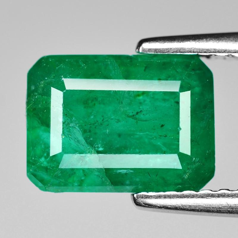 2.70 Cts Natural Vivid Green Colombian Emerald Loose Gemstone