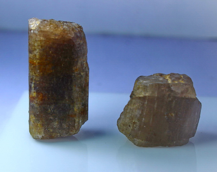 216.20 CT Natural - Unheated Brown Scapolite Crystal