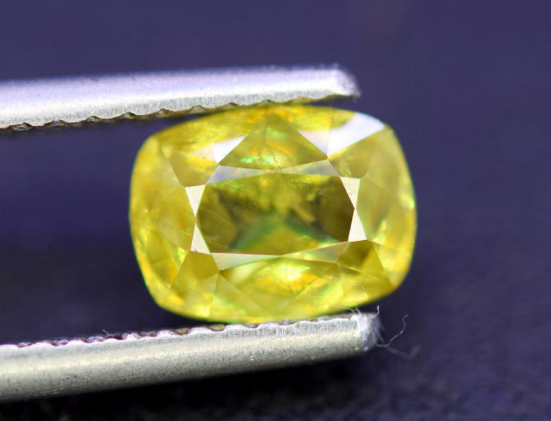 Sphene Titanite, 1.95 CT Natural Full Fire Sphene Titanite Gemstone