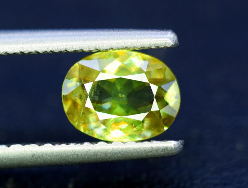 Sphene Titanite, 1.35 CT Natural Full Fire Sphene Titanite Gemstone