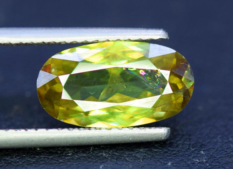 Sphene Titanite, 4.05 CT Natural Full Fire Sphene Titanite Gemstone