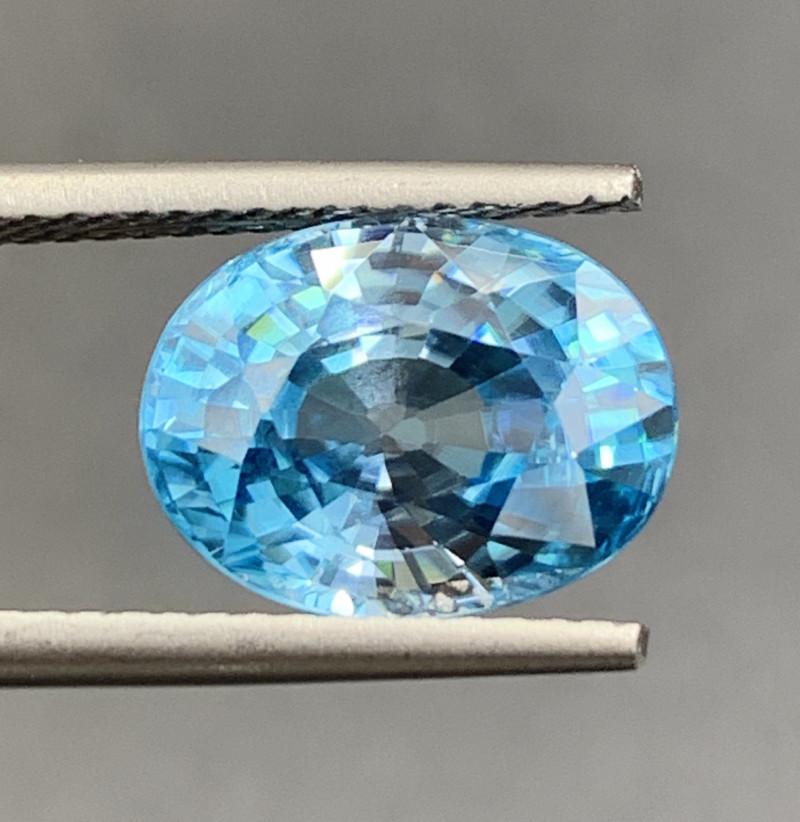 6.18 CT Zircon Gemstones