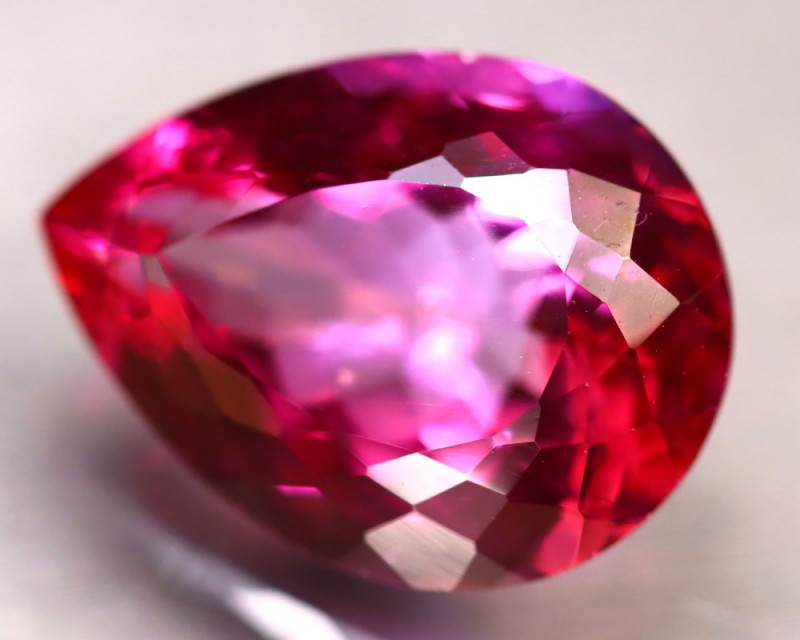 Pink Topaz 10.32Ct Natural IF Pink Topaz DR273/A35