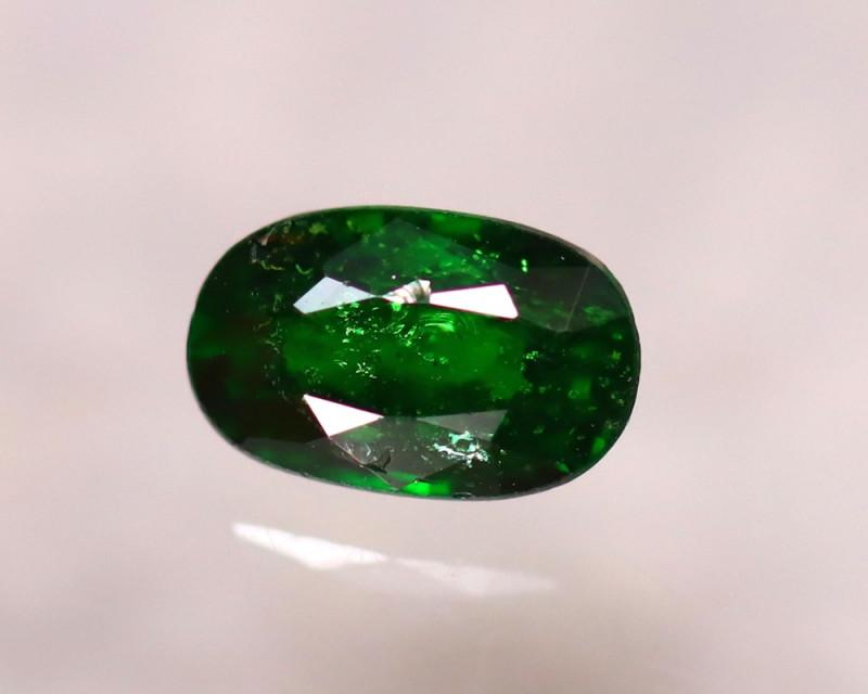 Tsavorite 0.73Ct Natural Intense Vivid Green Color Tsavorite Garnet DF0319