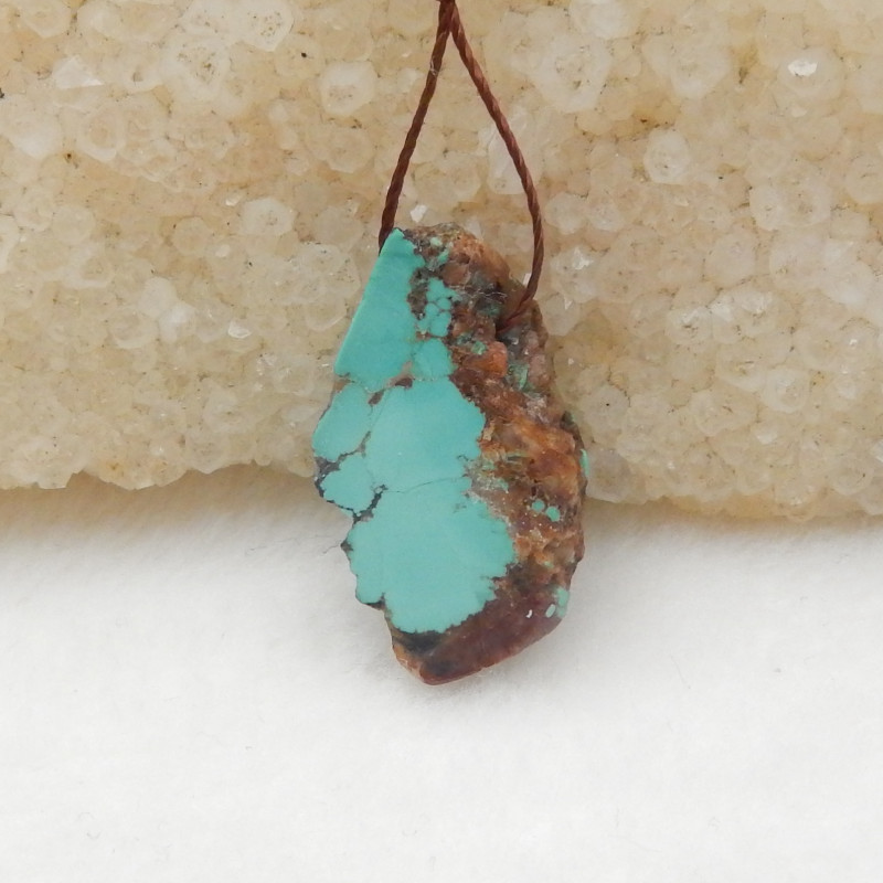 14cts Turquoise Pendant ,Natural Gemstone ,Turquoise Pendant H018