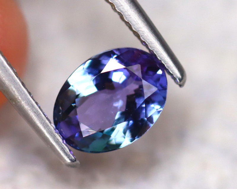 Tanzanite 1.33Ct Natural VVS Purplish Blue Tanzanite ER144/D3