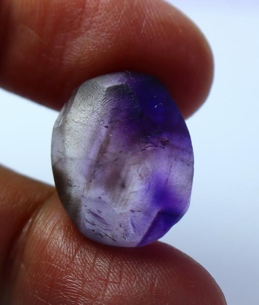 23.35 CT Natural - Unheated Purple Amethyst Preform