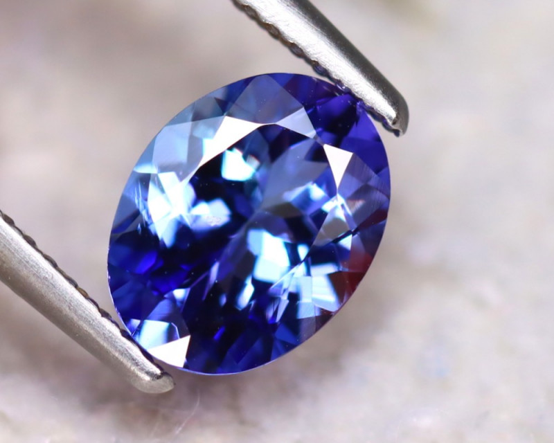 Tanzanite 1.82Ct Natural VVS Purplish Blue Tanzanite  DR285/D8