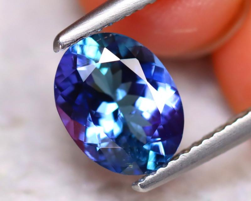 Tanzanite 1.98Ct Natural VVS Purplish Blue Tanzanite  DAR287/D8