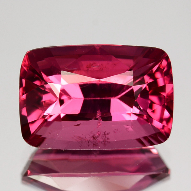 1.95Ct Natural Fluorescent  pink Spinel Cushion