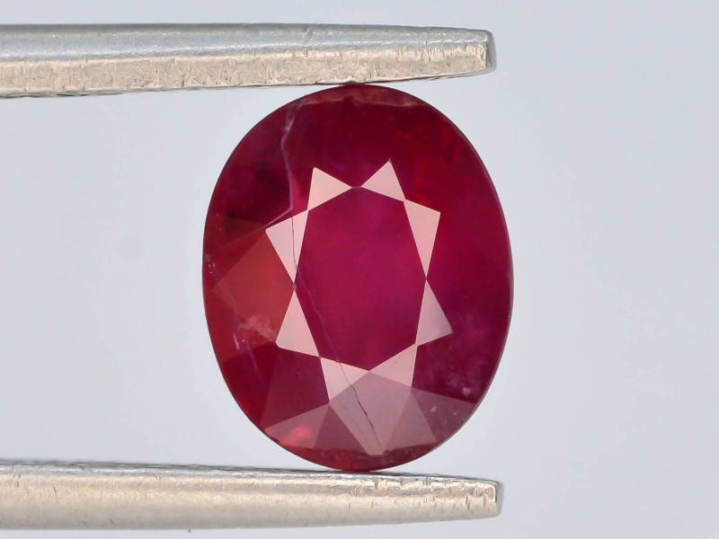 1.65ct Natural Ruby ~ Afghanistan