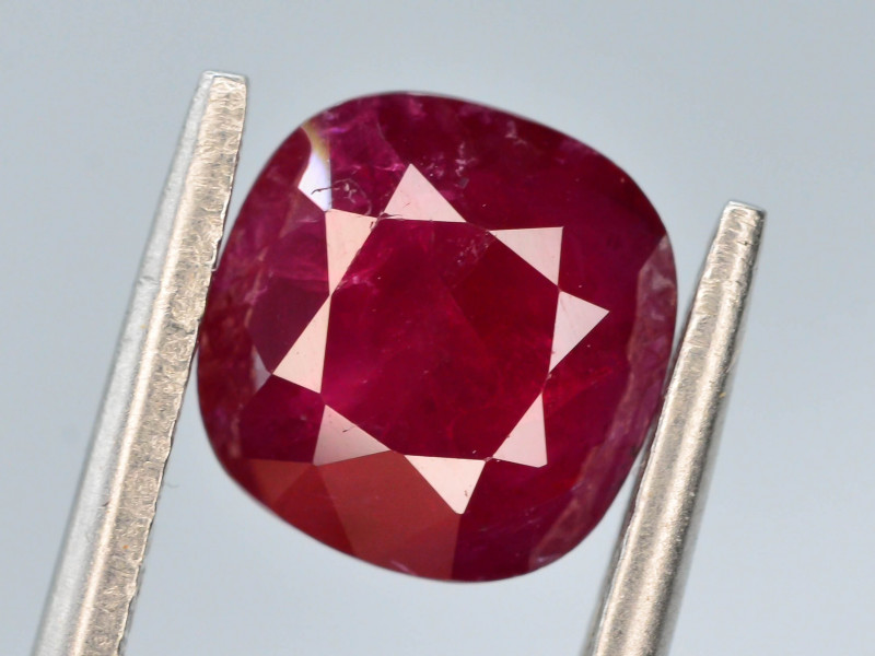 GGI CERT ~  2.35 ct Natural Ruby ~ Afghanistan