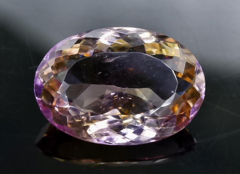 15.58 Crt  Ametrine Faceted Gemstone (Rk-73)