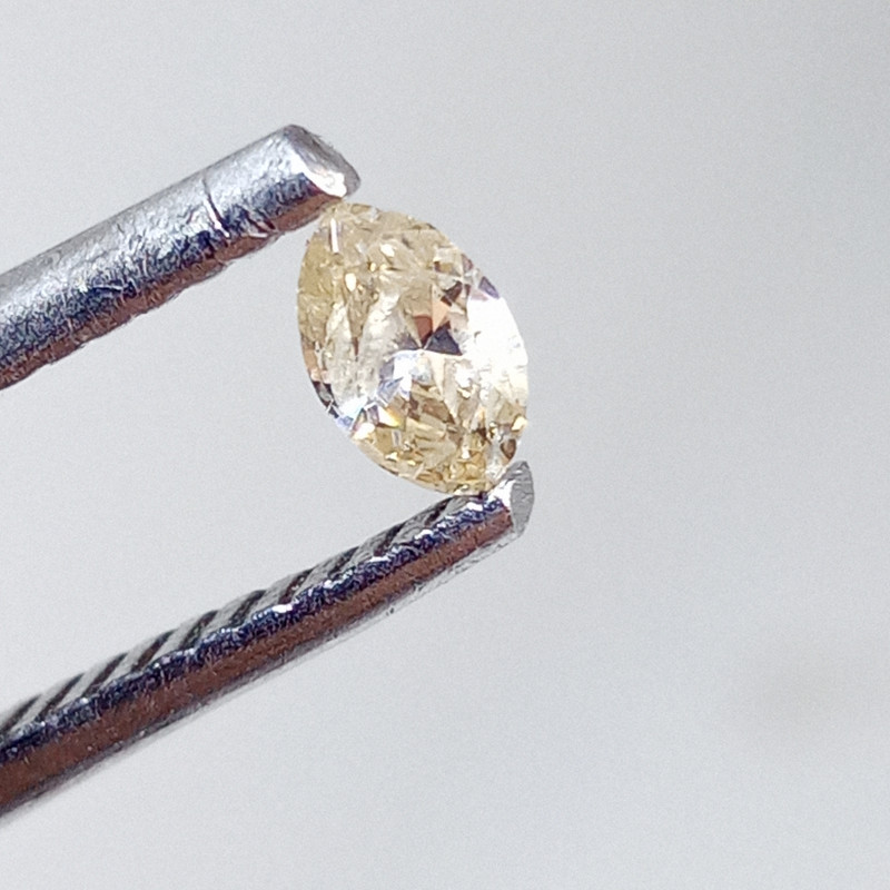 0.145ct  Light Brown Diamond , 100% Natural Untreated