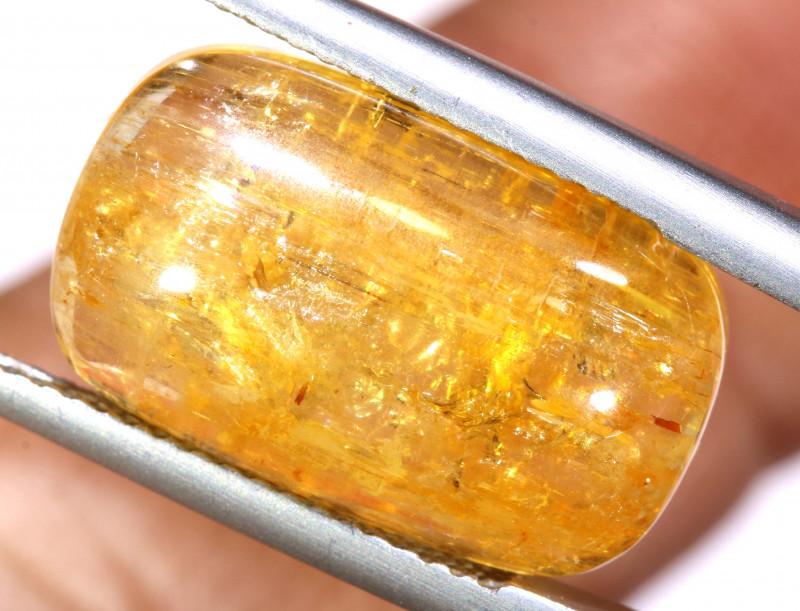 13.75 CTS  GOLDEN TOPAZ  CABOCHON   TBM-2210