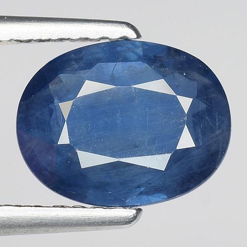 1.82 CT AIG CERT BLUE SAPPHIRE TOP LUSTER GEMSTONE AFRICA
