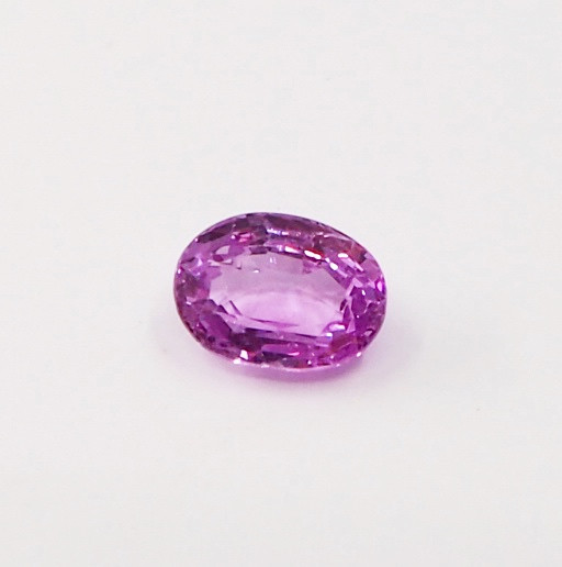 0.97ct clean unheated pink sapphire