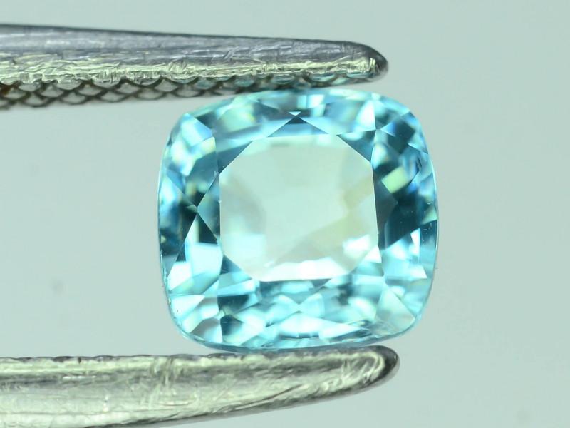 AAA Brilliance 1.90 ct Blue Zircon Cambodia ~K