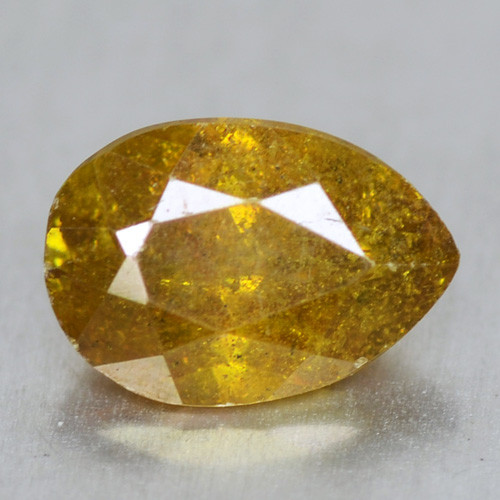 0.57 Cts Untreated Fancy Yellow Color Natural Sphalerite Loose Gemstone