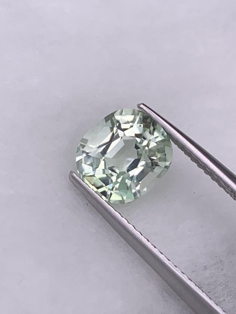 2.45 Cts VVS Mint Green Top Quality Tourmaline Master Cut