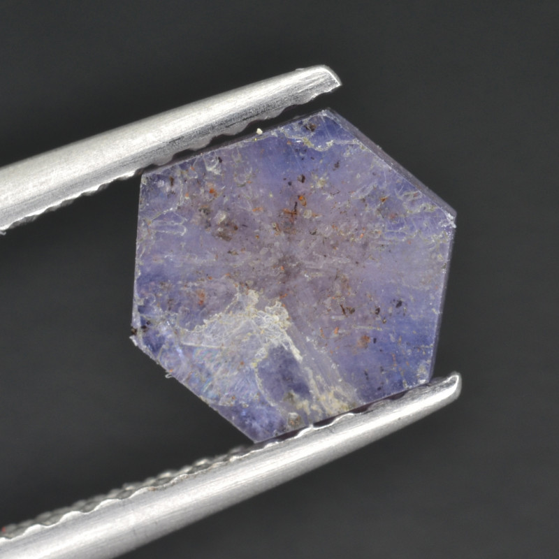 Natural Trapiche Sapphire 1.05 Cts from  Afghanistan