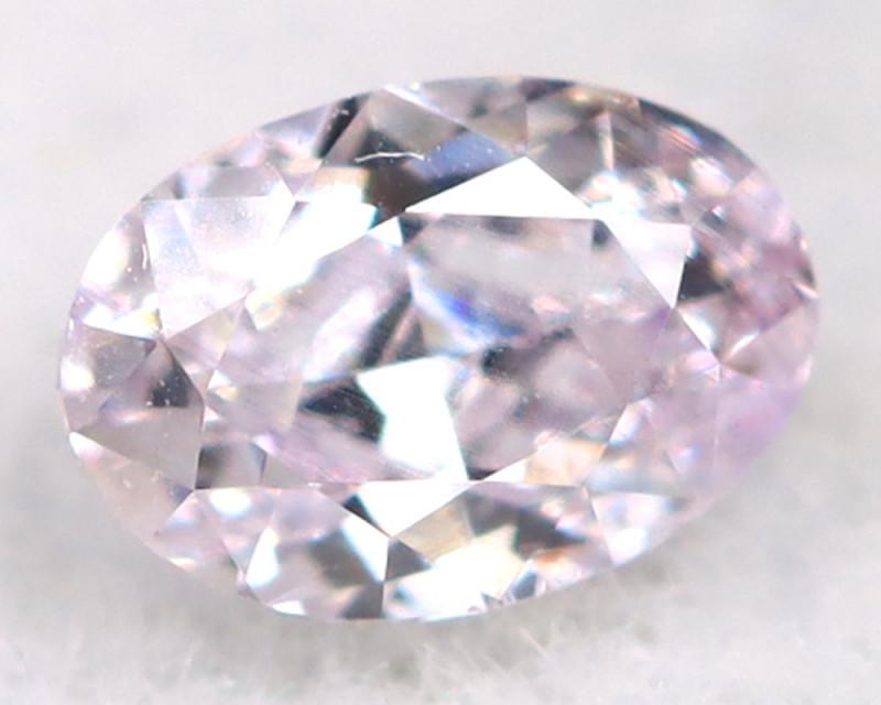 Pink Diamond 0.10Ct Natural Untreated Fancy Diamond A1113