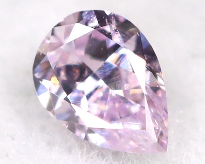 Pink Diamond 3.1mm Natural Untreated Fancy Diamond A1114