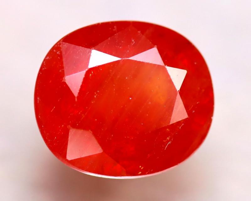 Sapphire 5.90Ct Natural Reddish Orange Sapphire DR314/B38