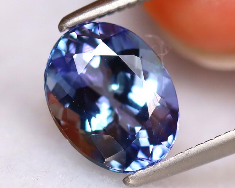 Tanzanite 2.12Ct Natural VVS Purplish Blue Tanzanite  DR315/D8