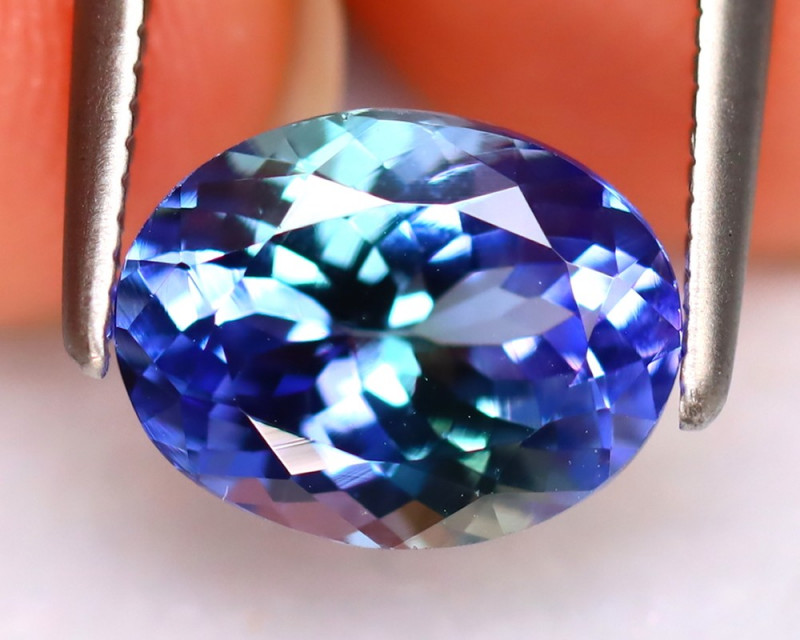 Tanzanite 1.93Ct Natural VVS Purplish Blue Tanzanite  DR317/D8