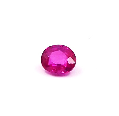 0.35ct clean unheated pinkish red ruby
