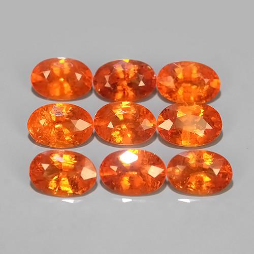 5.20 Cts~Natural Shocking Fanta Orange Spessartite Garnet Namibia, Amazing!