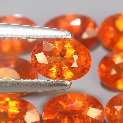 4.55 Cts~Natural Shocking Fanta Orange Spessartite Garnet Namibia, Amazing!