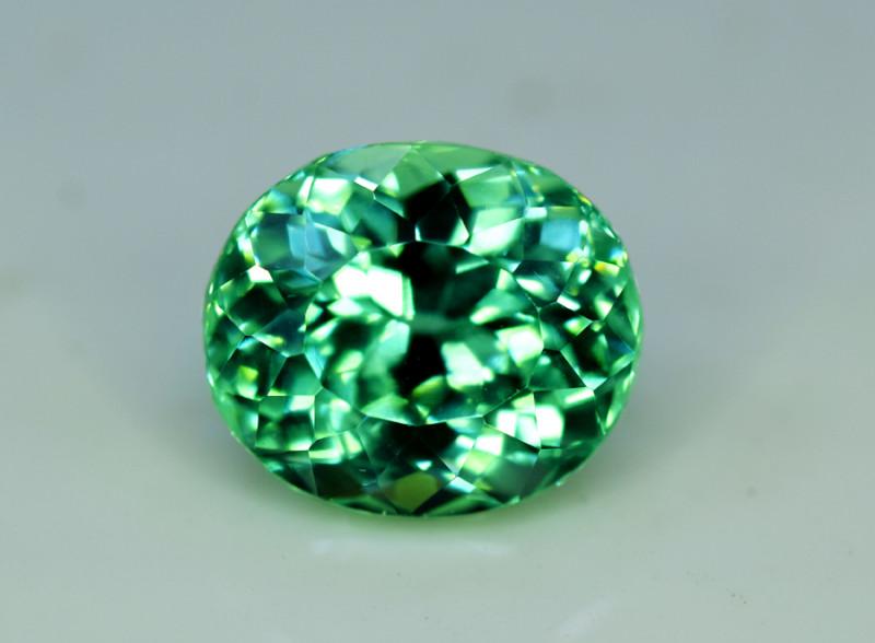 NR Auction 9.35 Grams Amazing Lush Green Hiddenite Kunzite Gemstone