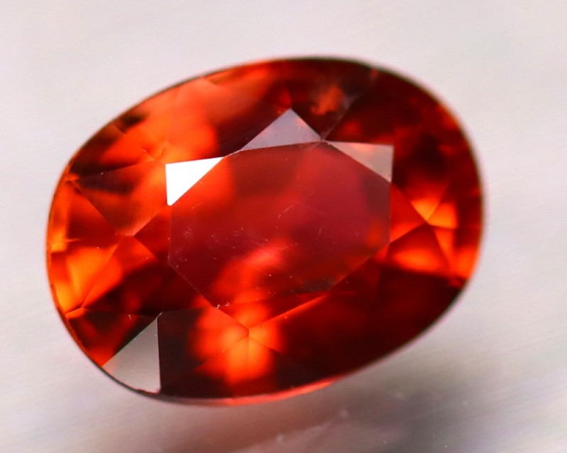 Tourmaline 1.16Ct Natural Orangey Red Color Tourmaline D1718/B1