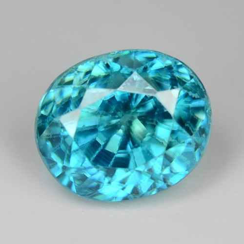1.43 Cts Amazing Rare Blue Zircon Natural Loose Gemstone